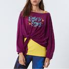 個性打結印花罩衫TA725(商品不含內著與配件)-百貨專櫃品牌 TOUCH AERO 瑜珈服有氧服韻律服