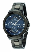 ★MASERATI WATCH★-瑪莎拉蒂手錶-時尚藍黑款-R8873619001-錶現精品公司-原廠正貨-