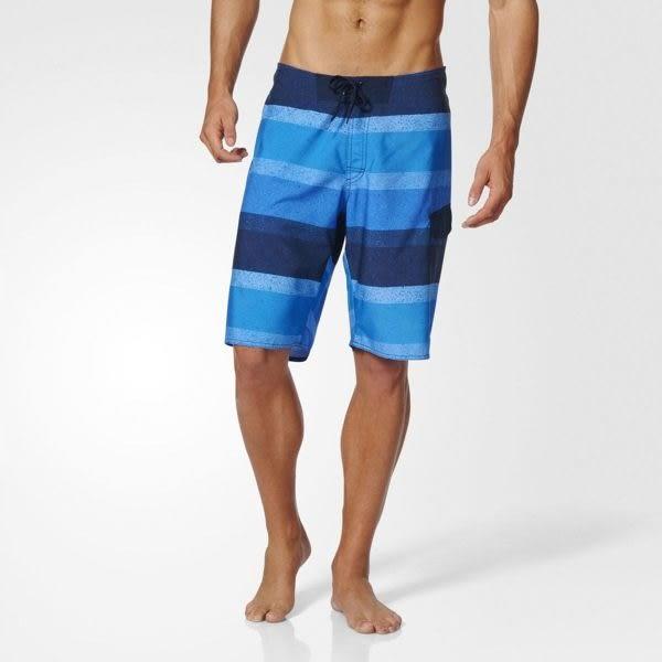 Adidas Graphic Water 男 黑 水藍 愛迪達運動褲 沙灘褲 海灘褲 泳褲 速乾 衝浪 透氣 短褲 BJ8579