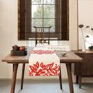 時尚可愛空間餐桌布 茶几布 隔熱墊 鍋墊 杯墊 餐桌巾桌旗 427 (30*160cm)