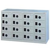 【時尚屋】MC多用途高級鋼製16格置物櫃(免組裝)(免運費)(台灣製)