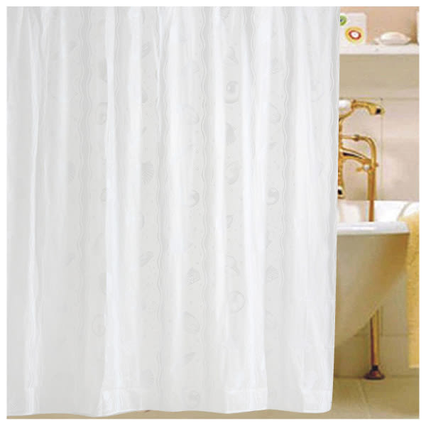 浴簾PVC SHELL 182×182cm NITORI宜得利家居