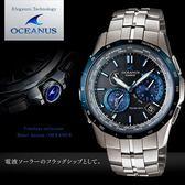 【人文行旅】OCEANUS   OCW-S1400D-2A 高科技智慧電波錶