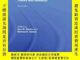 二手書博民逛書店An罕見Integrated Approach To Communication Theory And Resea