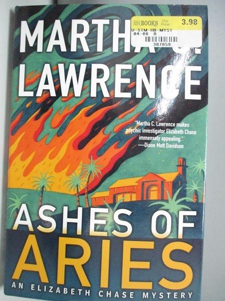 【書寶二手書T1/原文小說_DIK】Ashes of Aries_Martha C. Lawrence