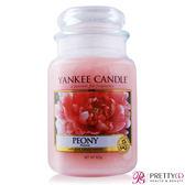 YANKEE CANDLE香氛蠟燭- 牡丹 Peony (623g)【美麗購】