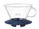 金時代書香咖啡 Kalita 185系列 蛋糕型玻璃濾杯 2-4人 寶石藍 #05111