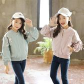 童裝女童外套春秋款新款韓版中大童上衣兒童棒球服長袖潮