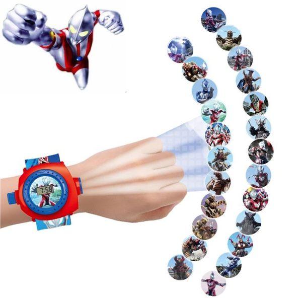 一件8折免運 熊出沒兒童玩具手錶卡通投影電子手錶寶寶男孩女孩幼兒園學生禮物