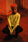 【GOZER Taiwan】SIDE ZIP CREW TOP 雙拉鍊三角LOGO長袖T恤 (螢光黃色) 現貨