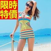 連身泳衣 泳裝-音樂祭海灘游泳必備比基尼風靡嚴選56j68【時尚巴黎】