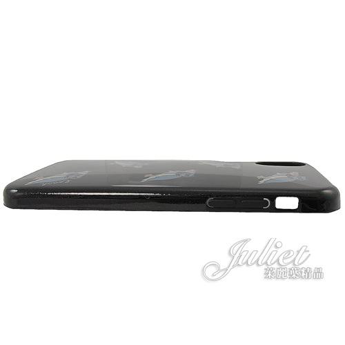 茱麗葉精品【全新現貨】COACH 39326 貓頭鷹亮面 Iphone X/Xs 手機殼.黑