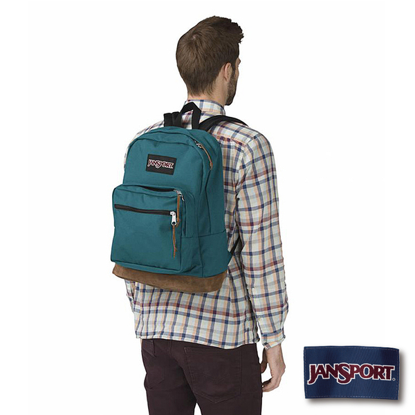 【JANSPORT】RIGHT PACK系列後背包 -海盜藍(JS-43969)