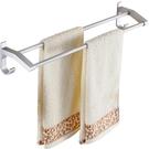 免打孔毛巾架衛生間浴巾架太空鋁浴室壁掛架單桿毛巾桿廁所置物架 黛尼時尚精品