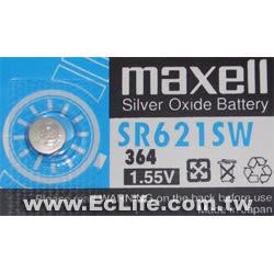 maxell 水銀電池 364/SR621SW 1顆裝