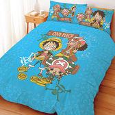 【享夢城堡】航海王 尋寶之路系列-單人床包涼被組