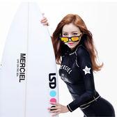 韓國分體潛水服女防曬速干泳衣沖浪浮潛服