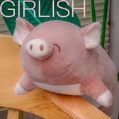 可愛超軟趴豬毛絨玩具小豬豬公仔玩偶娃娃床上抱著睡覺抱枕女生 台北日光
