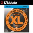 【非凡樂器】D'Addario 電貝斯弦EXL160 獨立包裝/鎳弦/四弦貝斯使用【50-105】