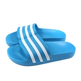 adidas 拖鞋 戶外 藍色 男鞋 FY8047 no894