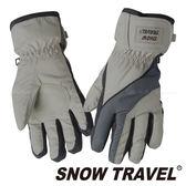 【SNOW TRAVEL雪之旅】兒童防水羽毛手套『淺卡其』2020020 兒童保暖手套 │ 防水手套 │羽絨內裡手套