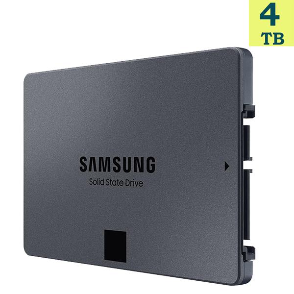 """【免運】SAMSUNG 4TB 4T【860 QVO】SSD MZ-76Q4T0BW 2.5"""" SATA 6Gb/s 固態硬碟"""