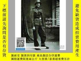 二手書博民逛書店【罕見】2002年出版,Uniforms of the Waff