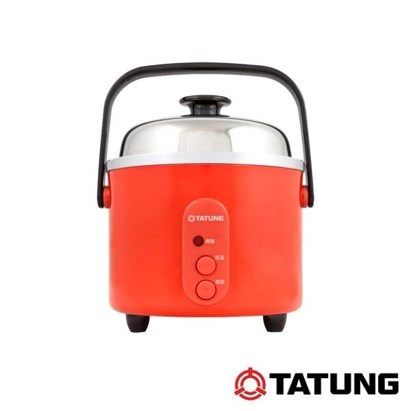 現貨供應 大同 TATUNG 3人份 304不鏽鋼內鍋電鍋-朱紅色 TAC-03S-D