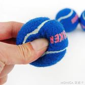 發聲網球3只裝 狗狗玩具泰迪比熊互動玩具球發聲玩具寵物玩具 莫妮卡小屋