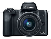 Canon EOS M50 Kit 黑色〔含 15-45mm〕平行輸入