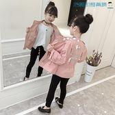 【618好康又一發】女童外套韓版女孩上衣短款中大童