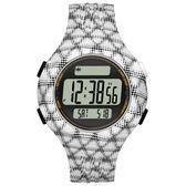 【時間光廊】adidas 愛迪達 圓型 格凌紋 電子錶 全新原廠公司貨 ADP3246