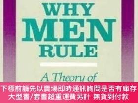 二手書博民逛書店Why罕見Men RuleY464532 Steven Goldberg Open Court, 1999 I