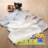 【小梨】男童棉麻西裝馬甲 4色