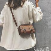 韓版ins超火小包包女2019新款波士頓手提包chic復古單肩斜挎包潮      良品鋪子