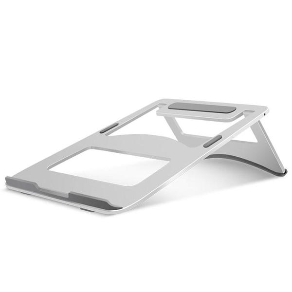 筆記本電腦懶人支架散熱底座便攜托架子鋁合金電腦支架金屬摺疊支架【萬聖夜來臨】