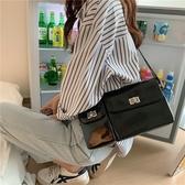 小眾個性腋下包女2020新款IG熱門款超火網紅漆皮酷帥單肩斜跨包手提包側背包