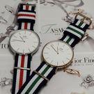 Daniel Wellington 經典英式oxford帆布錶帶 日本專櫃正貨(多色)