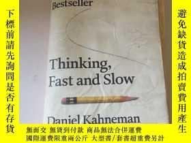 二手書博民逛書店thinki.g,fast罕見and slow( 不好)Y200