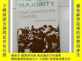 二手書博民逛書店英文版:THE罕見NEW MAJORITY adult learners in the university(新的
