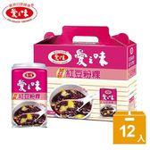 【愛之味】蒟蒻紅豆粉粿340g(12入/打)-電電購