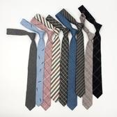 韓版學生tb領帶女日擊學院風格子JK潮學生襯衫復古領帶男職業 韓國時尚週