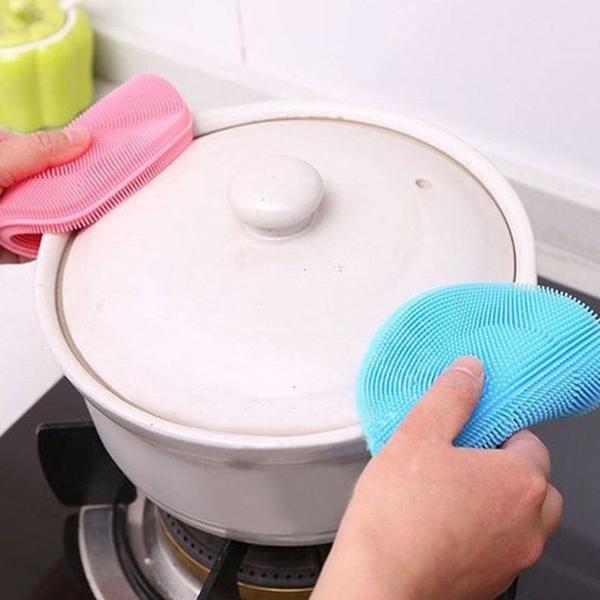 可掛矽膠洗碗刷 (不挑色) SHY-12