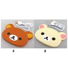 【震撼精品百貨】Rilakkuma San-X 拉拉熊懶懶熊~拉拉熊無線充電器(13CM/兩款圖案) #10210