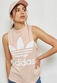 愛迪達 ADIDAS 三葉草 CE5583 粉白 粉色 粉紅色 logo 背心 運動背心 小可愛 內衣 無袖背心/澤米