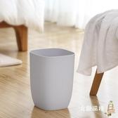 一件8折免運 北歐風垃圾桶創意客廳廚房衛生間臥室家用簡約無蓋方形大號紙簍筒