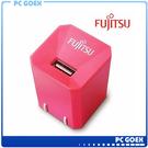 FUJITSU 富士通 1A 電源供應器 US-01 (粉紅)☆軒揚PC goex☆