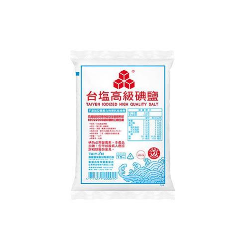 台鹽高級碘鹽1kg【愛買】