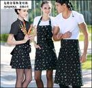 小熊居家Checked Out圍裙時尚男女家居廚房做飯圍裙廚師工作半身服務員圍裙 純棉圍裙特價