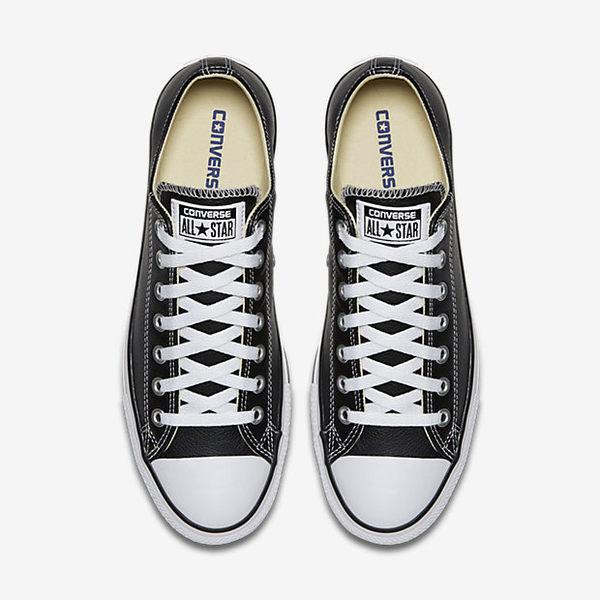 Converse Chuck Taylor All Star 男鞋 女鞋 休閒 荔枝皮 皮革  黑 【運動世界】 132174C